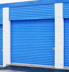 Amarr Commercial Rolling Steel Garage Doors - 4100 Series