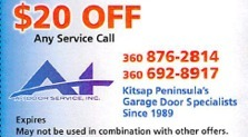 $20.00 off Any Service Call